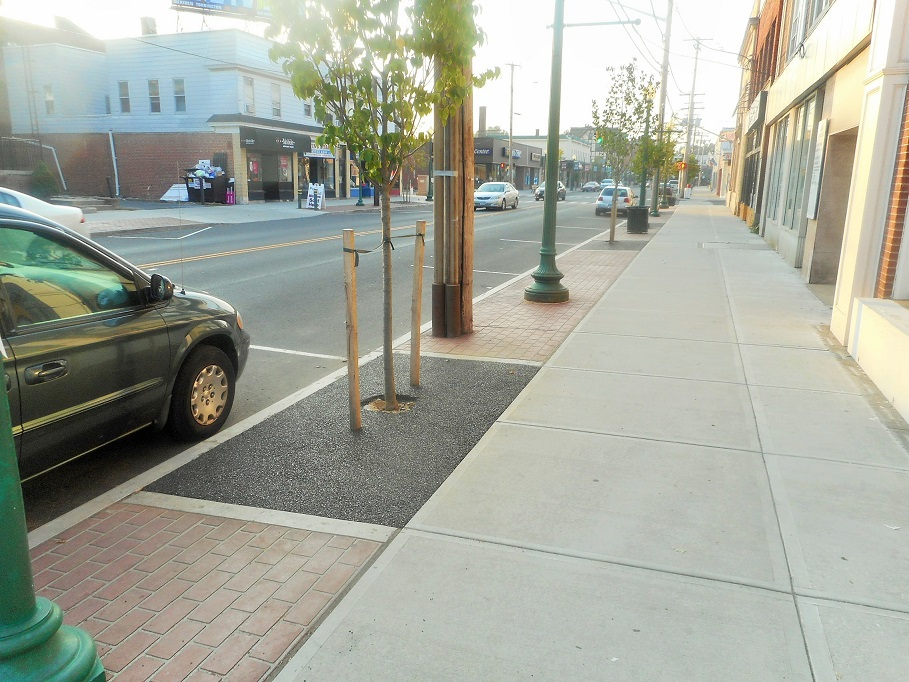 Campbell Avenue West Haven CT Streetscape Beautification