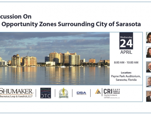 A Panel Discussion on Qualified Opportunity Zones, April 24, 2019