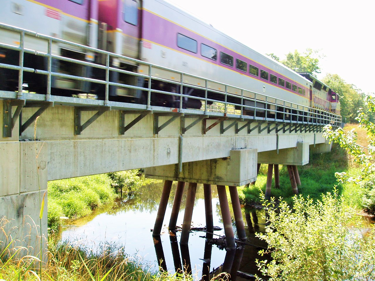 mbta bridge with train (2)